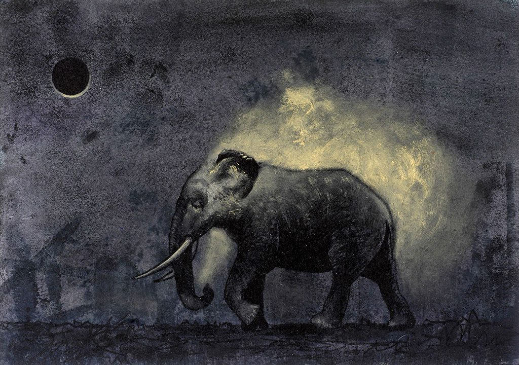 Der Elefant parfümiert sich um Mitternacht